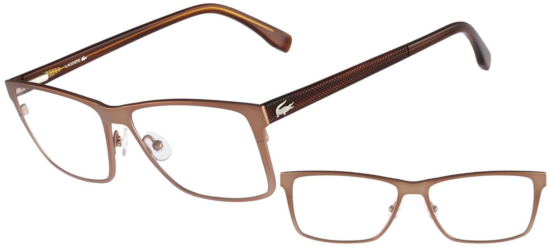 lunettes de vue Lacoste  L2197-234 Marron clair