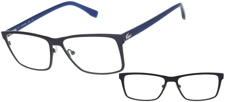 lunette lacoste homme de vue blanche leopard ea9bc1494055