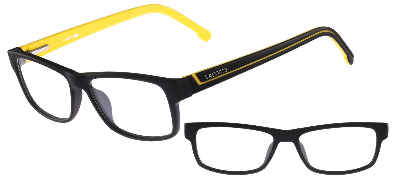 499a599bbe1 lunettes de vue Lacoste L2707-002 Noir mat