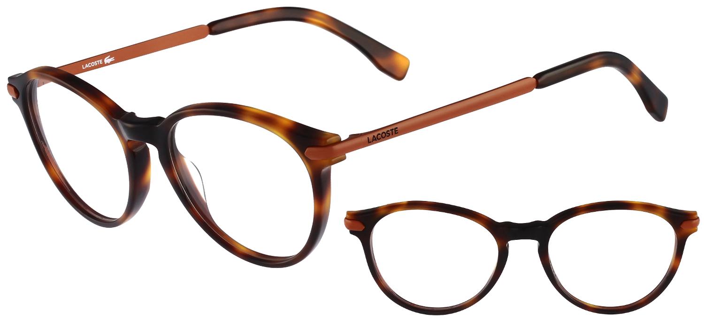 lunettes de vue Lacoste  L2718-214 Havane