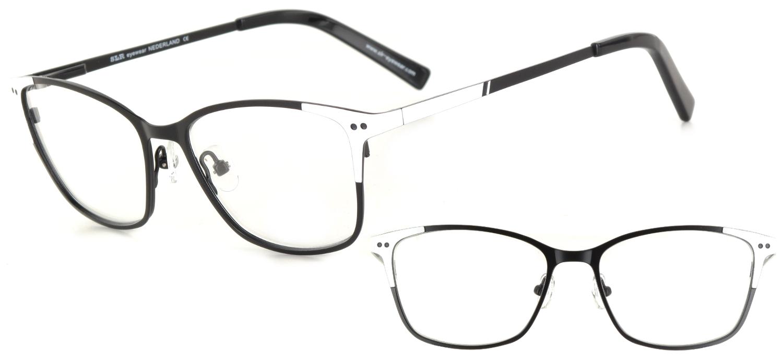 lunettes de vue ExperOptic Armor Noir Blanc