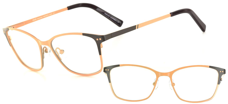 lunettes de vue ExperOptic Armor Creme chocolat