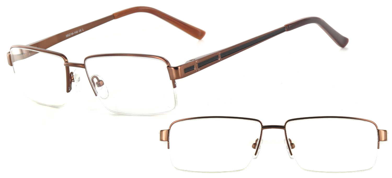 lunettes de vue ExperOptic Londres Noisette Noir