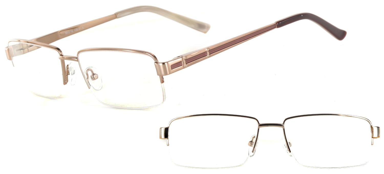 lunettes de vue ExperOptic Londres Brun Clair Brun