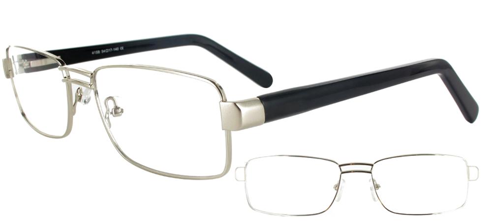 lunettes de vue Hector Argent Noir