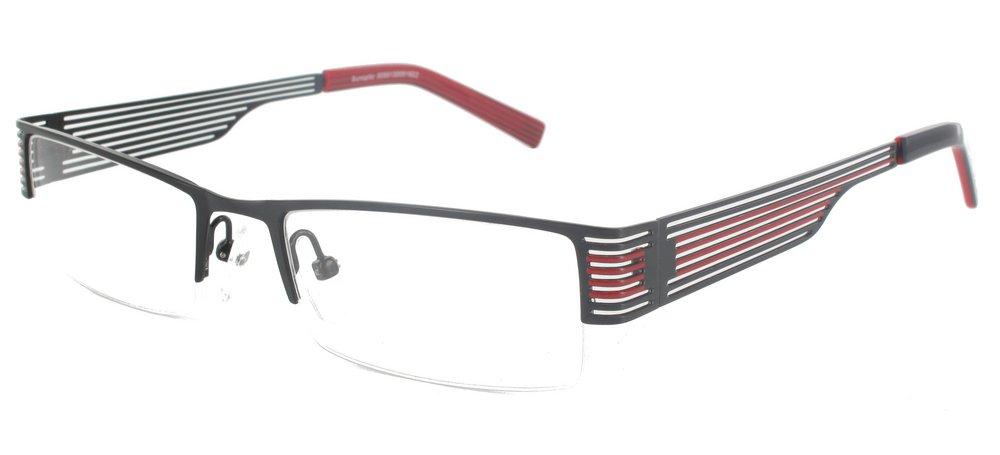 lunettes de vue ExperOptic Pieride Noir Rouge