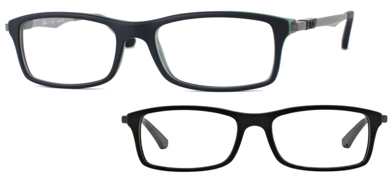 lunettes de vue Ray-Ban RX7017-5197 Noir et vert