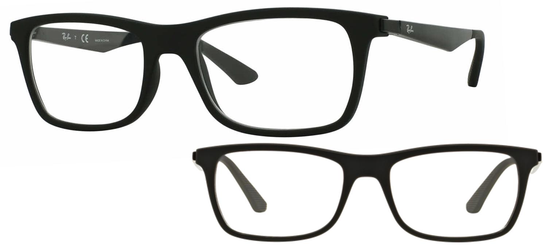 lunettes de vue Ray-Ban RX7062-2077 noir brillant