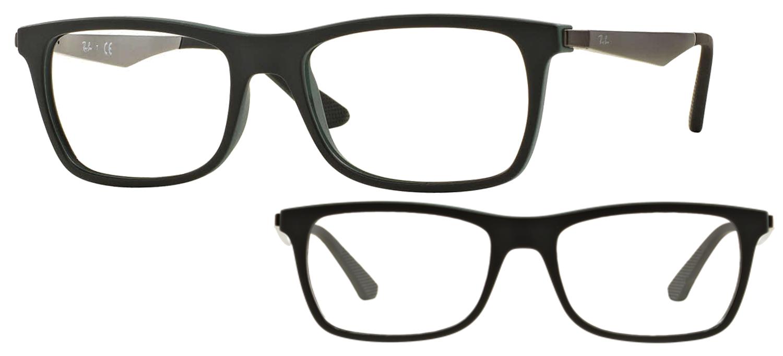 lunettes de vue Ray-Ban RX7062-5197 Noir et vert