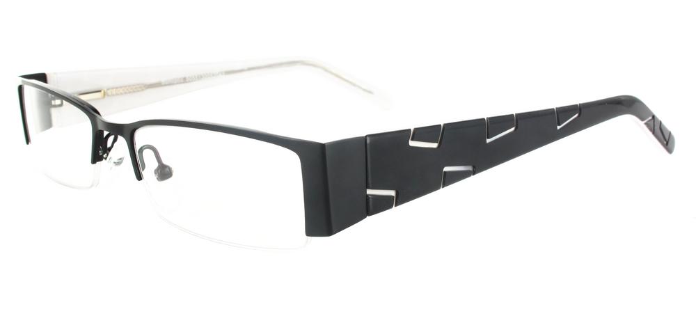 lunettes de vue ExperOptic Alava Noir Blanc