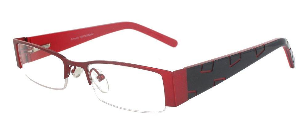 lunettes de vue ExperOptic Alava Bourgogne Noir
