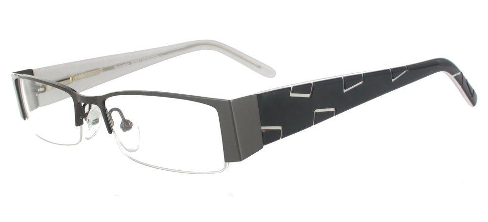 lunettes de vue ExperOptic Alava Gun Noir