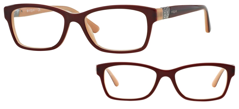 lunettes de vue Vogue VO2765B-2323 Bordeaux
