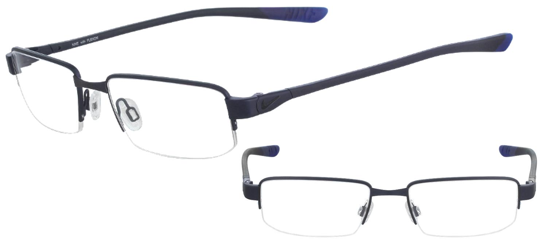 Nike NI4275-425 T53 Bleu profond