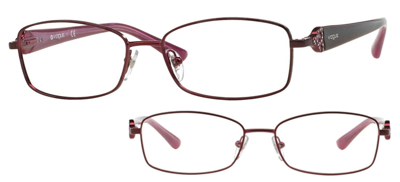 lunettes de vue Vogue VO3845B-717S Bordeaux