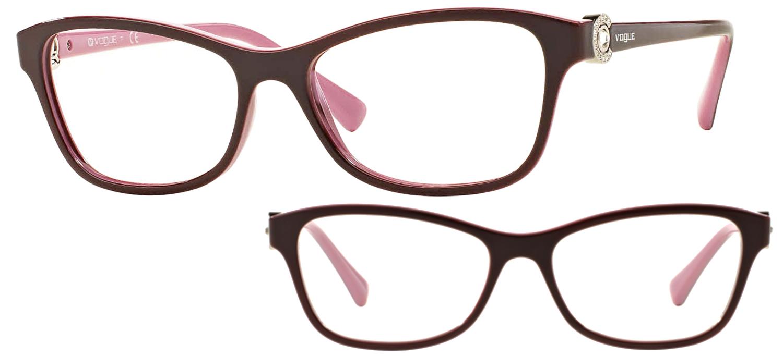 lunettes de vue Vogue VO5002B-2321 Pourpre rouge