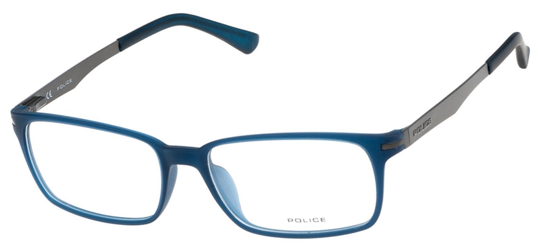 lunettes de vue Police V1975-0U11 Bleu et Gun