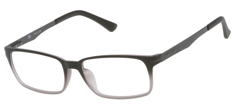 lunettes de vue Police V1975-W40M Gris degrad et Gun