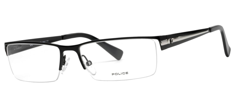 lunettes de vue Police V8225-08GF Noir Palladium T57