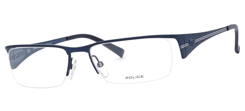 lunettes de vue Police V8577-08GR Bleu T55