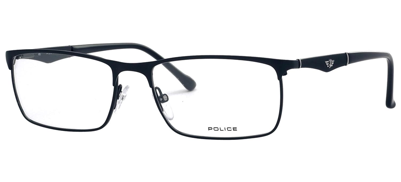 lunettes de vue Police V8726-08KM Bleu T55