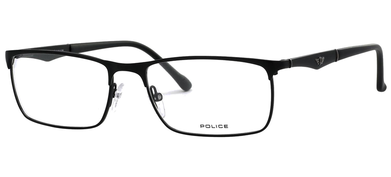 lunettes de vue Police V8726-0S08 Noir mat T55