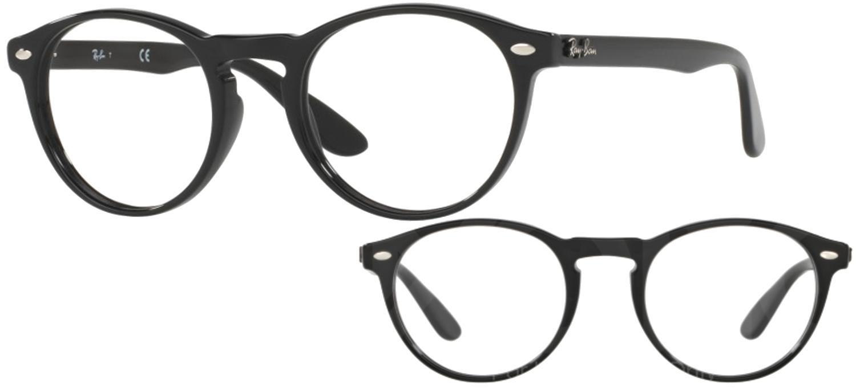 lunettes de vue Ray-Ban RX5283-2000 T49 Noir