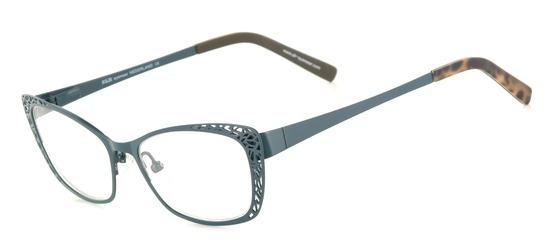 lunettes de vue ExperOptic Mutine Bleu gris