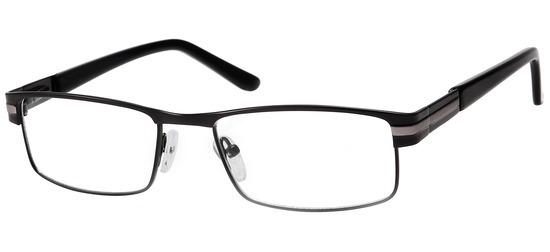 lunettes de vue ExperOptic Strippy Noir Gun