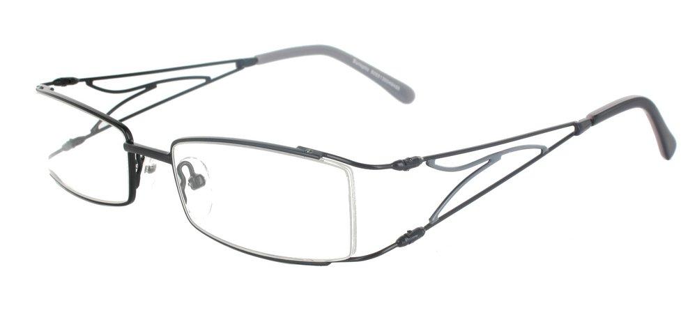 lunettes de vue ExperOptic Linotte Noir et Gris