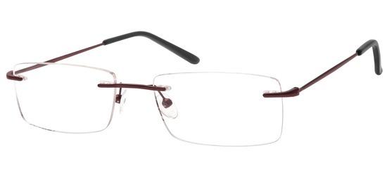 lunettes de vue ExperOptic Flinnton Bordeaux