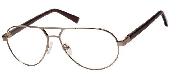 lunettes de vue ExperOptic Suzuka Marron clair