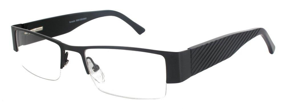 lunettes de vue ExperOptic Liege Noir
