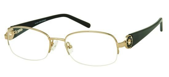 lunettes de vue ExperOptic Hanoura Or pale