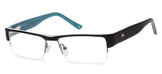lunettes de vue ExperOptic Lawman Noir Bleu
