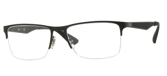 Ray-Ban RX6335-2503 T54 Noir mat