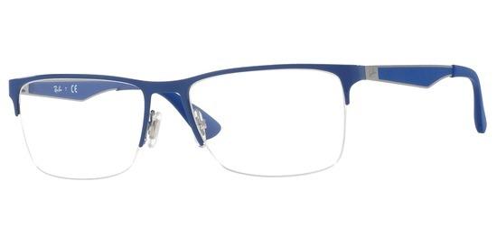 Ray-Ban RX6335-2889 T54 Bleu gris