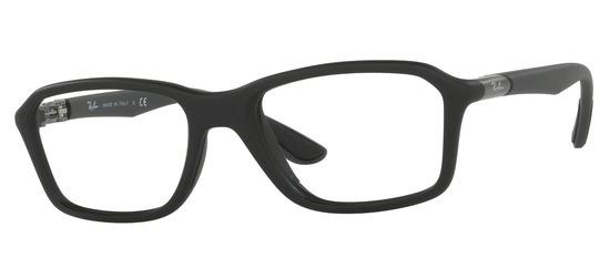 lunettes de vue Ray-Ban RX8952-5605 T53 Noir mat