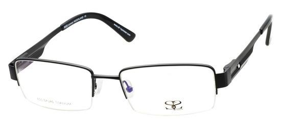 lunettes de vue ExperOptic Titwann Noir Mat
