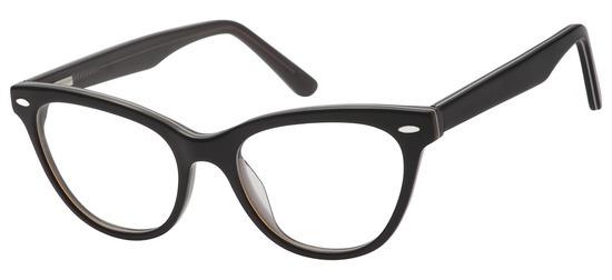 lunettes de vue ExperOptic LadyFly Noir marron