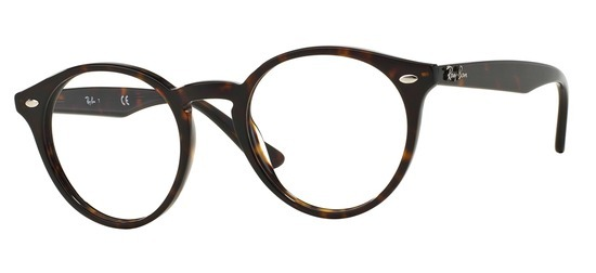 lunettes de vue Ray-Ban RX2180V-2012 Havane sombre