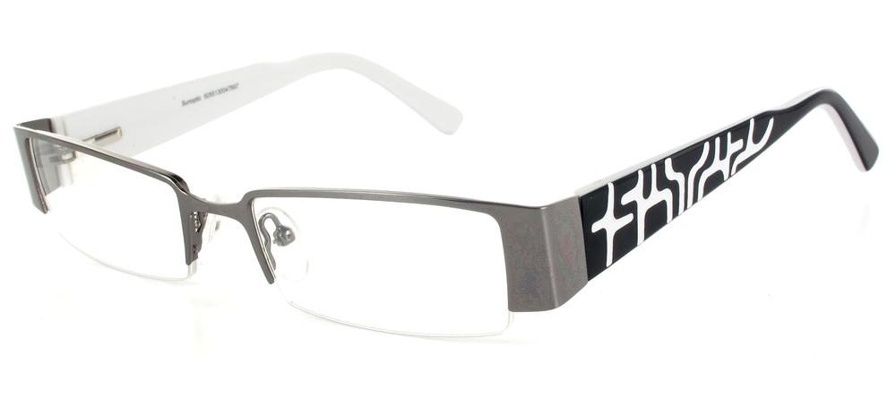 lunettes de vue ExperOptic Cahuita Gun brillant Blanc