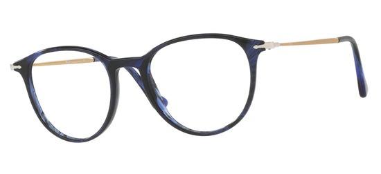 Persol PO3147V-1053 T49 Bleu marbre