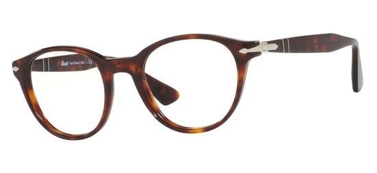 lunettes de vue Persol PO3153V-24 T50 Havane
