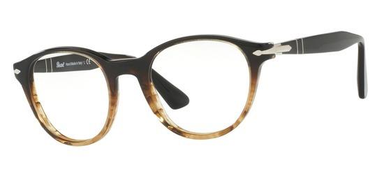 lunettes de vue Persol PO3153V-1026 T50 Havane