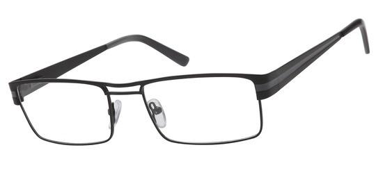 lunettes de vue ExperOptic Stuttgart Noir gris