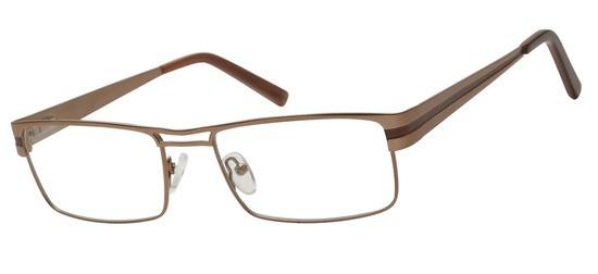 lunettes de vue ExperOptic Stuttgart Marron clair sombre