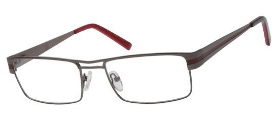 lunettes de vue ExperOptic Stuttgart Gun Bordeaux