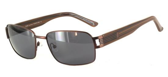 lunettes de soleil ExperOptic Boston Marron chocolat