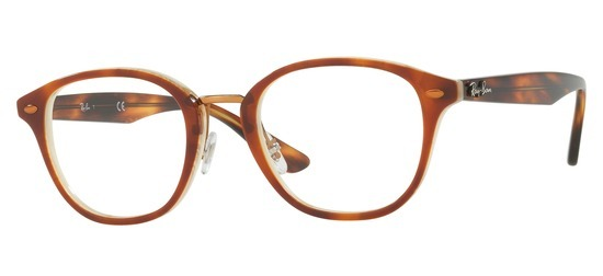 Ray-Ban RX5355-5677 T48 Ecaille corne